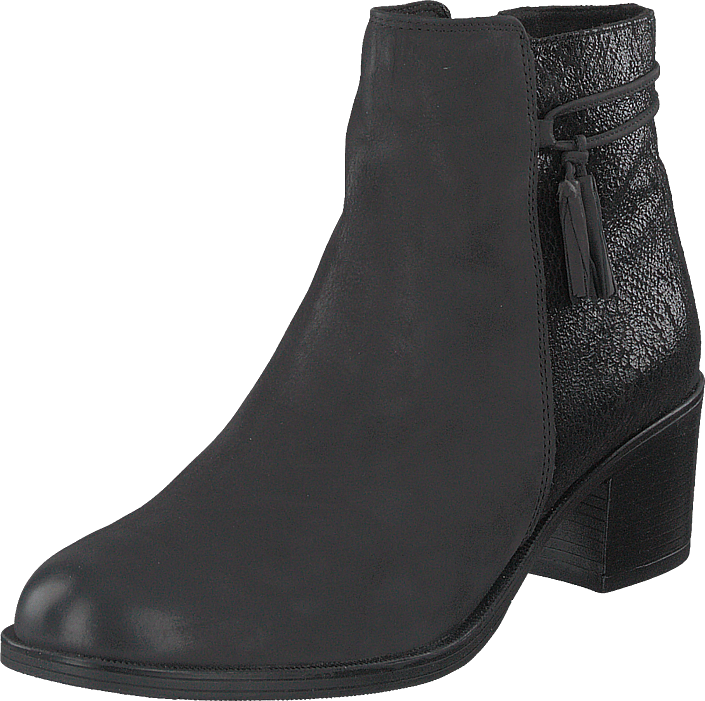 Caprice - Country Black Nubuc Combo