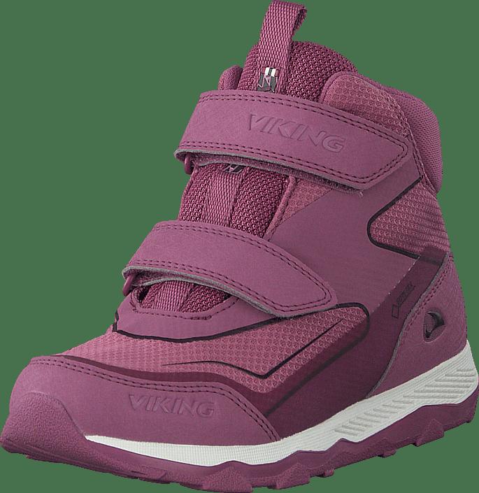 Viking - Evanger Mid Gtx Dark Pink/violet