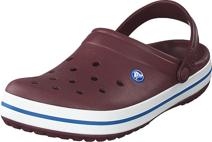 Crocs - Crocband Burgundy/white