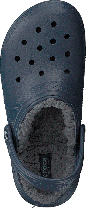 Crocs - Classic Lined Clog K Navy/charcoal