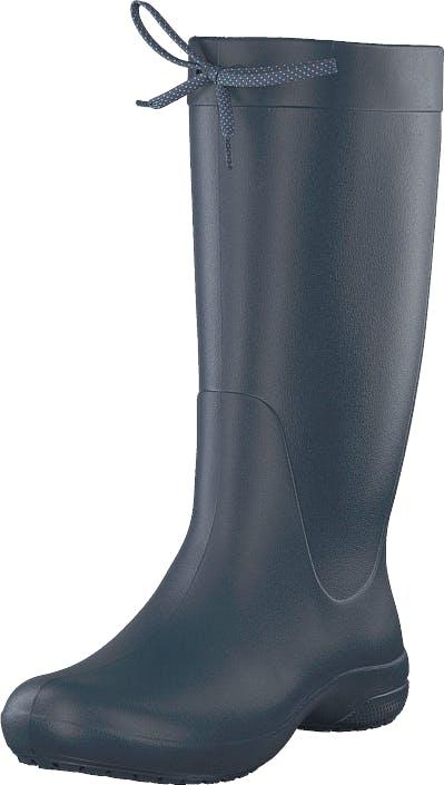 Crocs Crocs Freesail Rain Boot Navy, Skor, Stövlar & Stövletter, Höga gummistövlar, Blå, Dam, 34