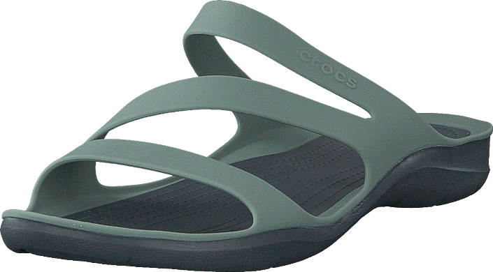 Crocs - Swiftwater Sandal W Dusty Green/charcoal