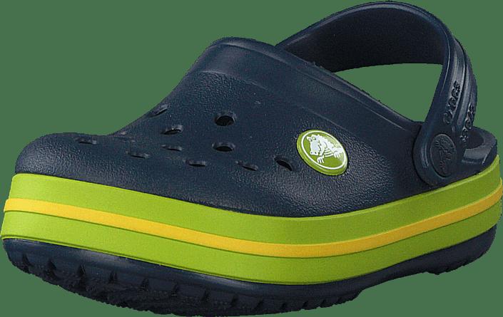 Crocs - Crocband Clog K Navy/volt Green