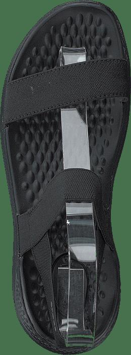 Kjøp Crocs Literide Sandal W Black/black Sko Online