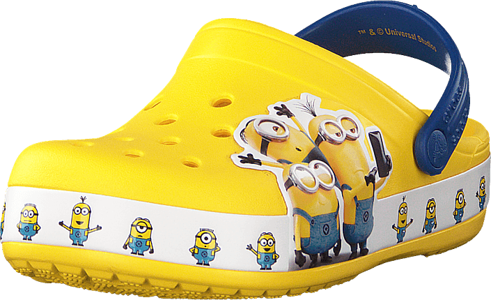 Crocsfl Minions Multi Clg K Yellow