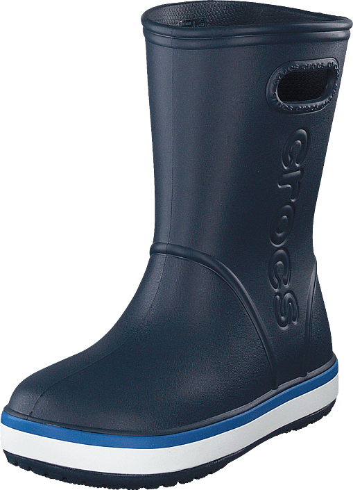 Crocs - Crocband Rain Boot K Navy/bright Cobalt