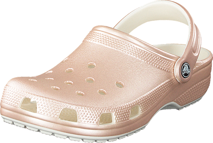 Crocs - Classic Metallic Clog Rose Gold