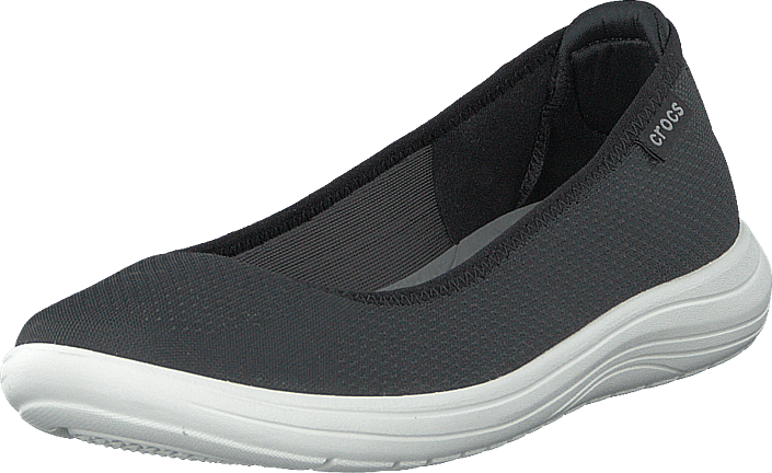 Crocs - Crocs Reviva Flat W Black/white