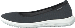 Crocs Reviva Flat W Black/white
