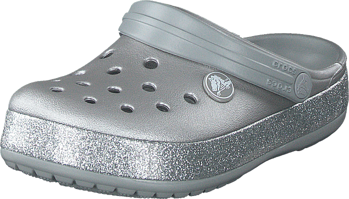 Crocs - Crocband Glitter Clog K Silver