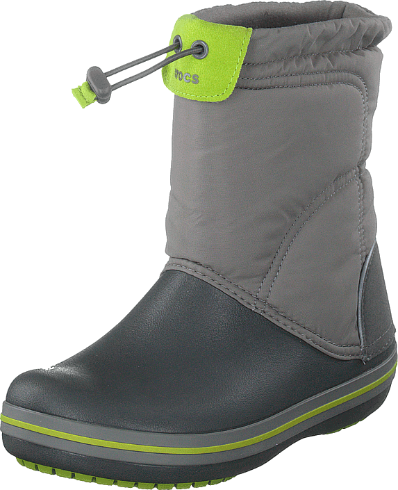 Crocs - Crocband Lodgepoint Boot K Smoke/graphite