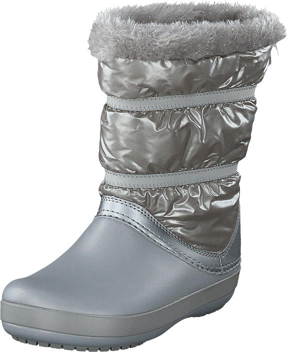 Crocs - Cb Lodgepoint Metallic Boot G Silver Metallic