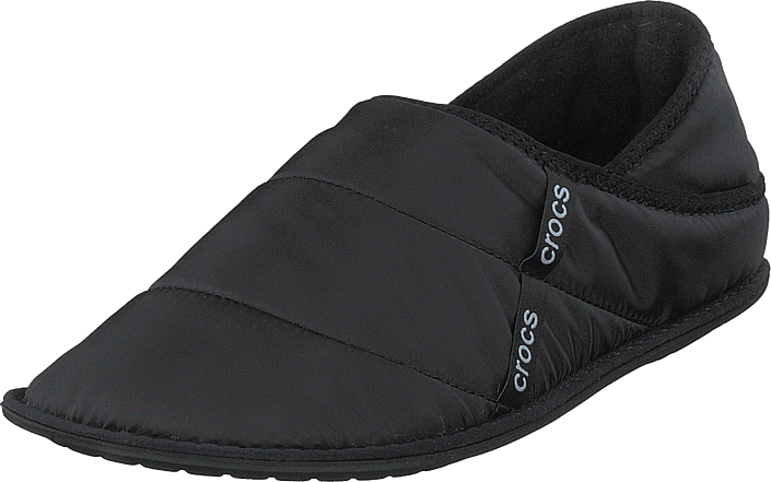 Neo Puff Slipper Black