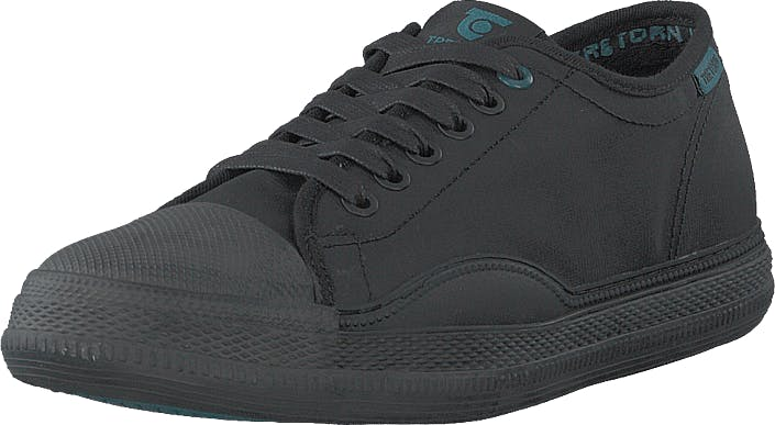 Tretorn Racket Wp Black/artic Green, Skor, Sneakers & Sportskor, Låga sneakers, Svart, Unisex, 41