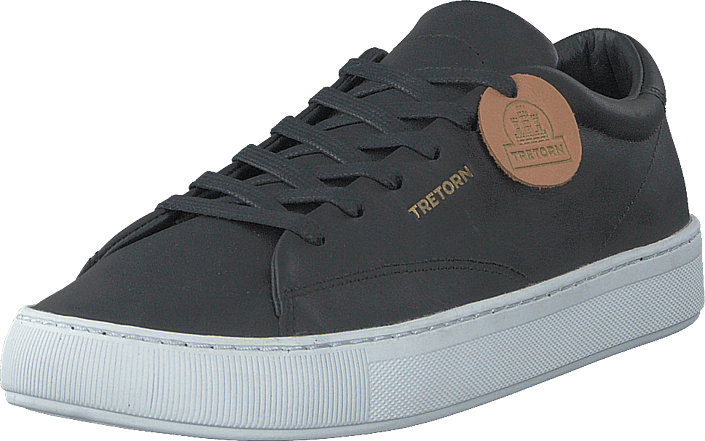 Tretorn - Tournament Leather Black/white