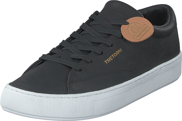 Tretorn - Tournament Leather Black/white