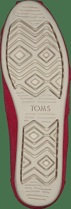 Kjøp Toms Corduroy Wm Alpr Esp Red Sko Online