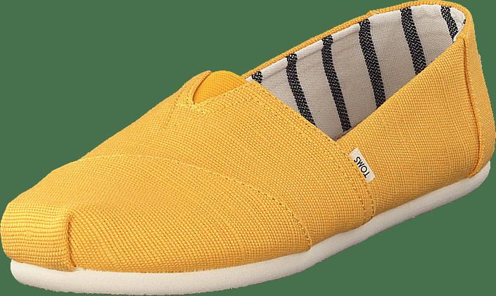 Toms - Heritage Can Wm Alpr Yellow