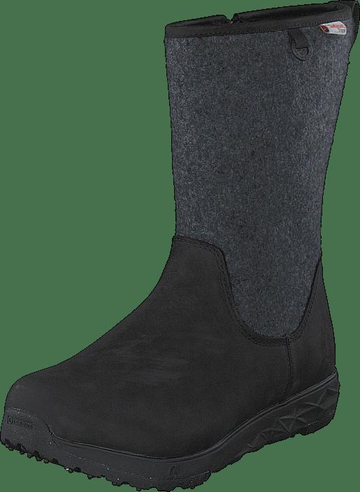 Grove W Bugrip® Woolpower Black/grey