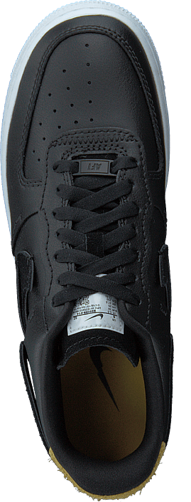 Wmns Air Force 1 '07 Lux Shoe Black/anthracite-mystic Green
