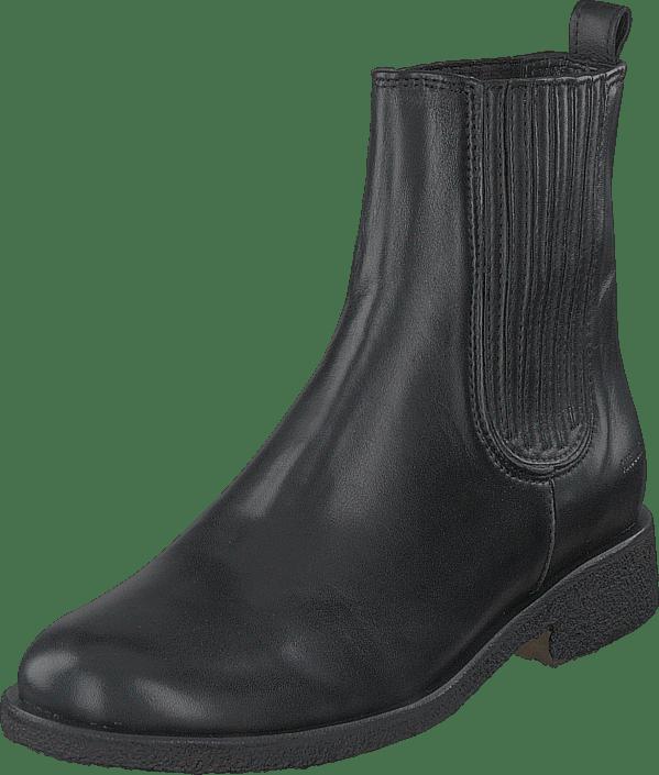 Chelsea Boot With Elastic Black/black