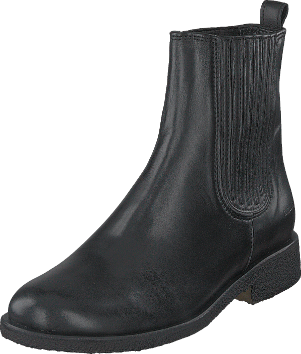 Angulus - Chelsea Boot With Elastic Black/black