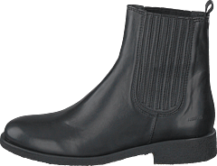 Chelsea Boot With Elastic Black/black