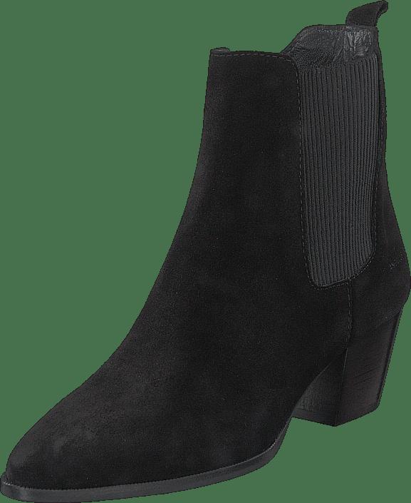 Angulus - Heeled Boot With Zipper Black/black