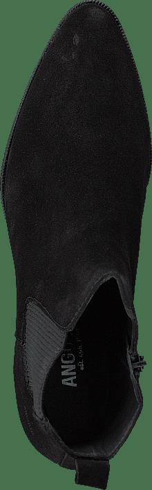 Kjøp Angulus Heeled Boot With Zipper Black/black Sko Online