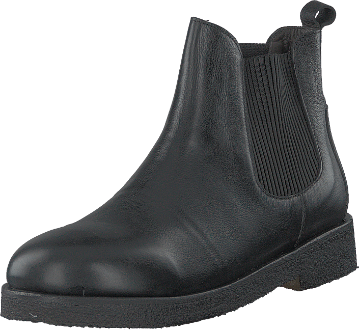 Angulus - Chelsea Boot With Chunky Sole Black/black