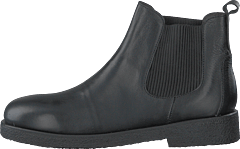 Chelsea Boot With Chunky Sole Black/black