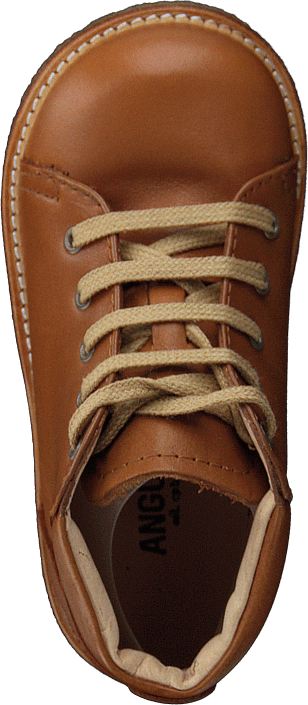 Starter Boot With Laces Cognac
