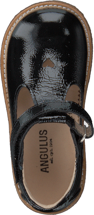 Starter Mary Janes With Heart Black