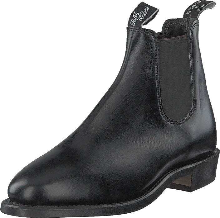 RM Williams - Adelaide Rubber Sole (g Fit) Black