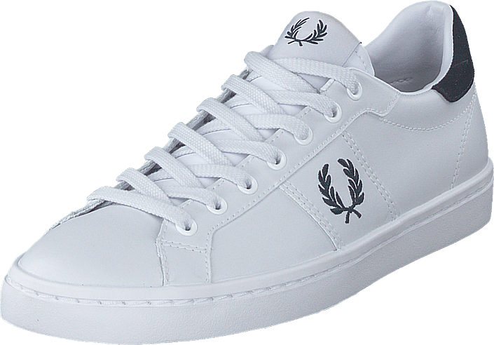 Fred Perry - B6119 Leather White/navy