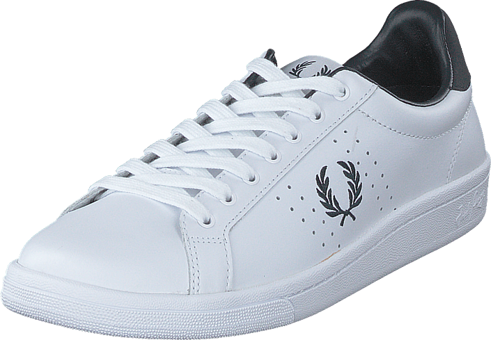 Fred Perry - B6201 Leather White/navy