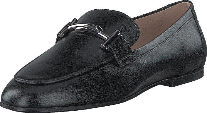 Tod's - Double T Leather Loafers Nero