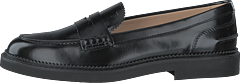 Gommino Leather Loafers Nero