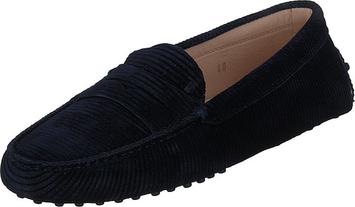 Tod's - Gommino Suede Loafers Navy