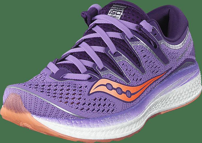 Saucony - Triumph Iso 5 Purple / Peach
