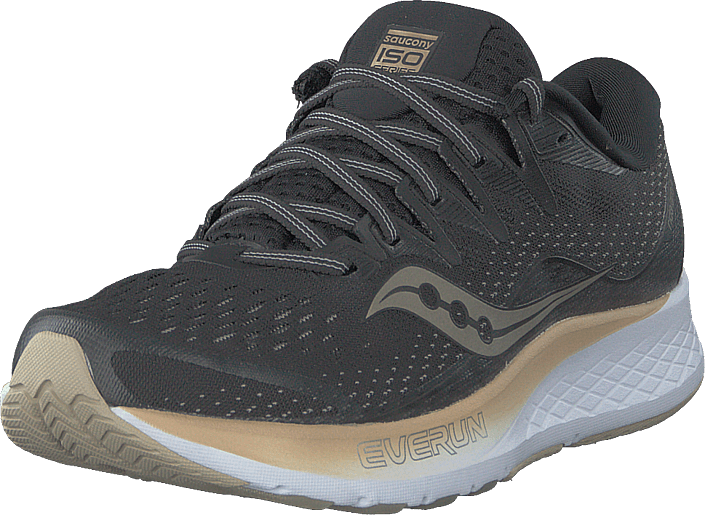 Saucony - Ride Iso 2 Black / Gold