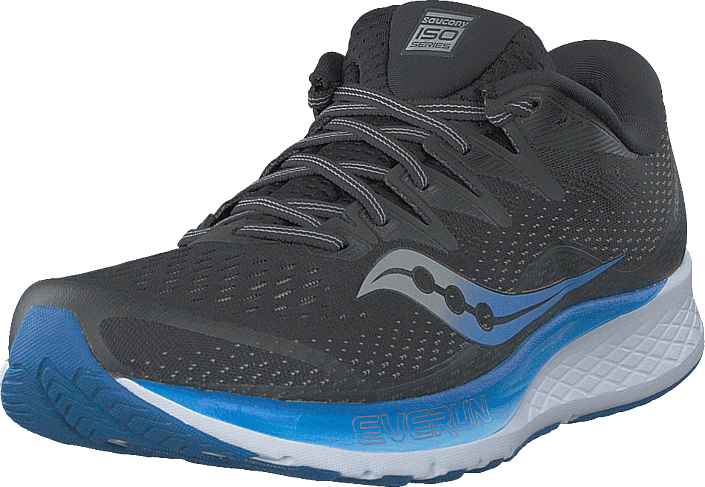 Saucony - Ride Iso 2 Black / Blue