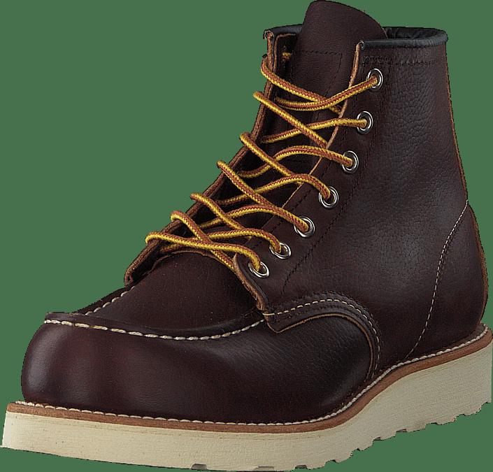 6-inch Classic Moc Briar Oil Slick Leather