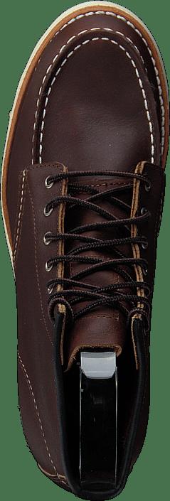 6-inch Classic Moc Mahogany Oro-iginal Leather