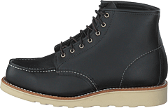 6-inch Classic Moc Black Boundary Leather