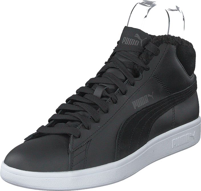 Puma Smash V2 Mid Wtr L Puma Black dark Shadow White