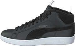 Puma Smash V2 Mid Wtr L Puma Black-dark Shadow- White