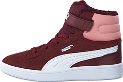 Puma Vikky V2 Mid Fur Ps Vineyard Wine-bridal Rose