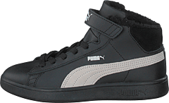 Puma Smash V2 Mid L Fur Ps Puma Black-whisper White
