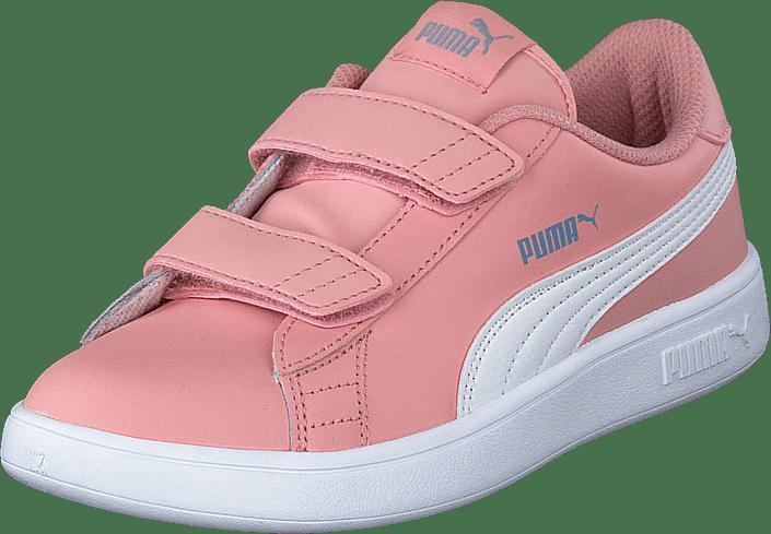 Puma - Puma Smash V2 Sd Ps Bridal Rose- White-faded Denim